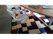 Technopolymer easy chair Dafne 163 - Metalmobil