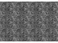 Wallpaper DARK URBAN CONCRETE DAMASK - Mineheart