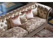 Chesterfield style tufted 3 seater sofa DESDEMONA CLASSIC - Domingo Salotti
