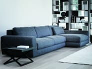 Fabric sofa with chaise longue 800 FASHION | Sofa with chaise longue - Vibieffe