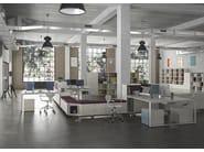 Modular metal office shelving DOTBOX EVOLUTION UNITS - Dieffebi