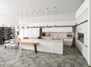 Kitchen with island E4.40 - Gamadecor