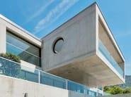 Glass Window railing EASY GLASS® HYBRID - Q-RAILING ITALIA