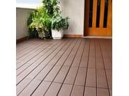 Pavimento per esterni flottante effetto legno EASYPLATE | Pavimento per esterni - PONTAROLO ENGINEERING