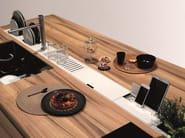 Kitchen equipped track EASYRACK KITCHEN FLAT | Kitchen equipped track - DOMUSOMNIA