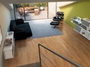 Full-body porcelain stoneware flooring with wood effect EASYWOOD - Ceramiche Marca Corona