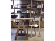 Wooden chair ECLETTICA | Open back chair - Devina Nais