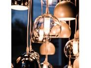 Steel pendant lamp ECLIPSE - Cattelan Italia