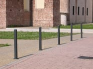 Galvanized steel bollard ECO CITY - A.U.ESSE