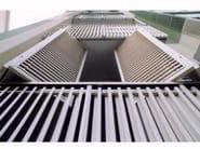 PVC solar shading ECO FOLD - SIAMESI by CASA ITALIA
