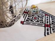 Tappeto fatto a mano rettangolare in lana a motivi geometrici EDGY - Dare to Rug
