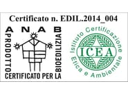 Natural insulating felt and panel for sustainable building EDILANA MAT3 D40 - EDILANA