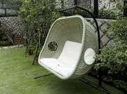 2 Seater garden hanging chair EGG | 2 Seater garden hanging chair - 7OCEANS DESIGNS