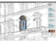 Aluminium thermal break window EKU PERFEKTION® CLASSIC - PROFILATI