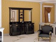 Double vanity unit with mirror ELBA CM03E - LA BUSSOLA