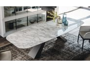Rectangular ceramic table ELIOT KERAMIK - Cattelan Italia