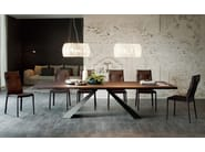 Rectangular wooden table ELIOT WOOD - Cattelan Italia