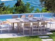 Rectangular garden table ELITE | Table - Talenti