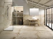 Porcelain stoneware wall/floor tiles with stone effect LASCAUX ELLISON BATHROOM - La Fabbrica