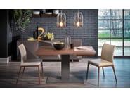 Extending rectangular wooden table ELVIS WOOD DRIVE - Cattelan Italia