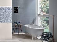 White-paste wall tiles EMPREINTE Azur - Impronta Ceramiche by Italgraniti Group