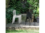 Stackable polypropylene chair EMY - Dall'Agnese