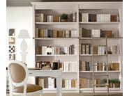 Sectional solid wood bookcase ENGLISH MOOD | Bookcase - Minacciolo