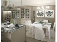 Solid wood fitted kitchen ENGLISH MOOD | Solid wood kitchen - Minacciolo