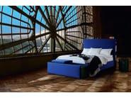 Lacquered round wooden bedside table EPOPÉE | Bedside table - Treca Interiors Paris