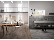 Epoque Bois-Brown-22,5x90 / Beton-Grey-60x60-30x30