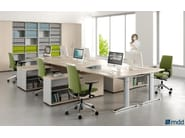 Workstation desk ERGONOMIC MASTER | Office desk - MDD