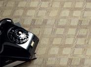 Marble flooring with wood effect ESSNCE - QUADROTTA TILE 305 - Lithos Mosaico Italia - Lithos