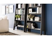 Lacquered MDF bookcase ESTORIL - Cattelan Italia