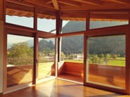 Aluminium and wood double glazed window ETERNITY - Alpilegno