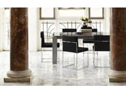 Upholstered leather chair EVEN PLUS   Leather chair - Calligaris