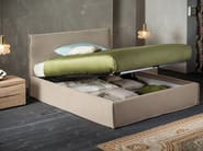 Upholstered fabric double bed EVERY | Double bed - Dall'Agnese
