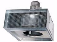 Ventilatore elicocentrifugo cassonato per evacuazione fumo EXONE F400 - ALDES