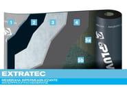 Prefabricated bituminous membrane EXTRATEC - PLUVITEC