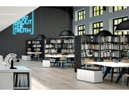 Open metal office shelving CHIAVE DI VOLTA - Dieffebi