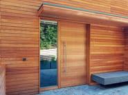 Custom entry door Entry door - Alpilegno