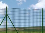 Plastic electrically welded mesh Fence EXECUTIVE STANDARD - Siderurgica Ferro Bulloni