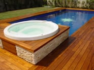 Solid wood outdoor parquet External Wooden Floors - Bruno Parquet