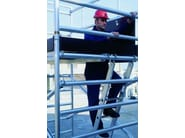 Mobile scaffolding for construction site F135 - Frigerio Carpenterie