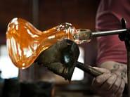 Blown glass pendant lamp FACET - Lasvit