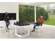 Square Xeramica dining table FACET | Table - Joli