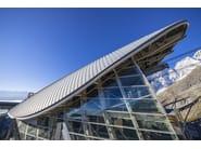 Continuous metal laminate for facade FALZINC® - KALZIP® - Gruppo Tata Steel Europe