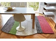 Striped wool rug FAROL - GAN By Gandia Blasco