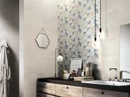 Indoor white-paste wall tiles FEEL - Ragno