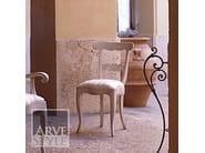 Sedia imbottita con schienale aperto FENICE | Sedia laccata - Arvestyle