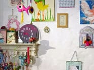 Wall-mounted kids clock FERNANDO THE FISH - Vitra